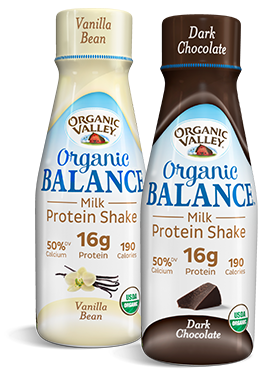 Organic Balance Product in Vanilla and Chocolate